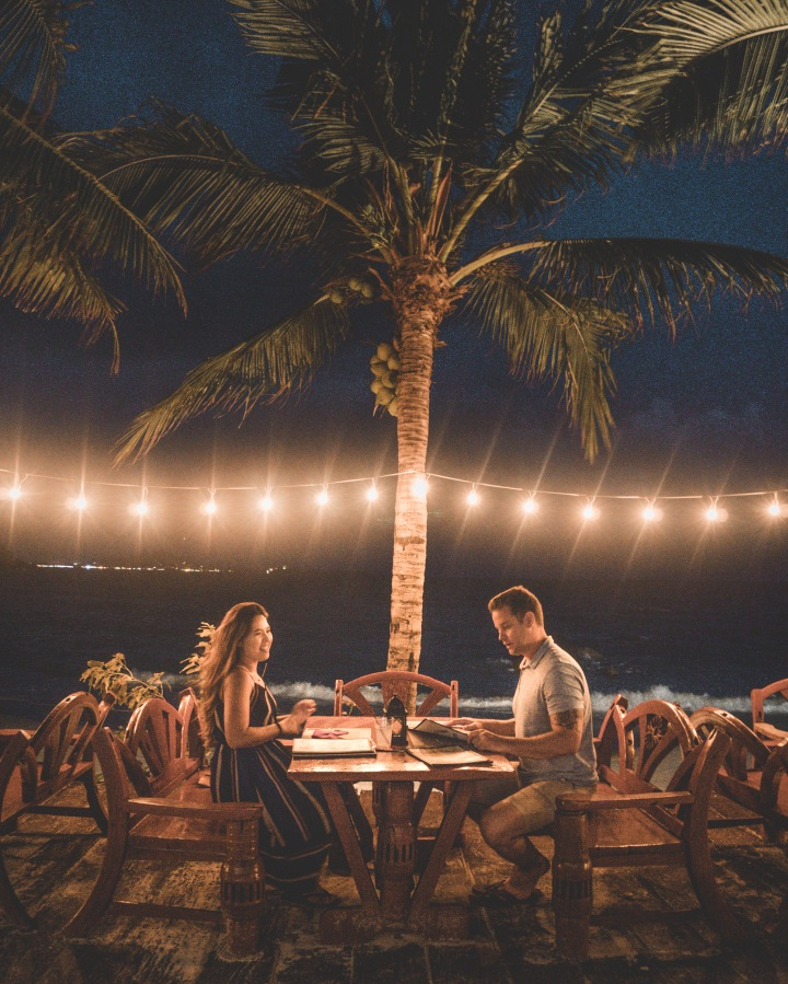 romantic dinner crystal bay